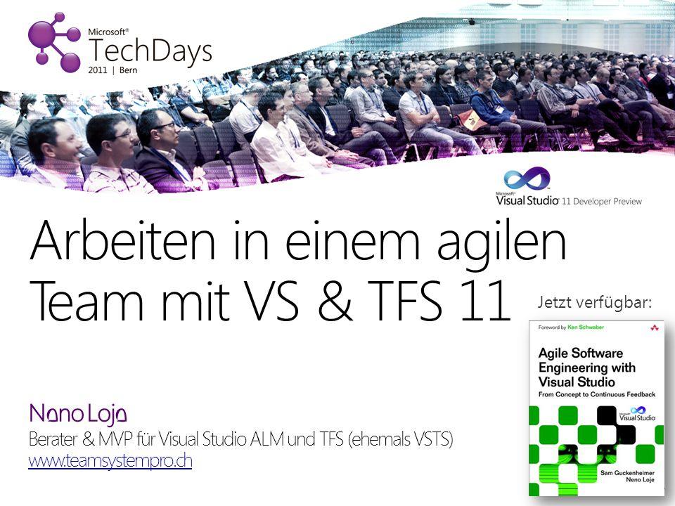 Arbeiten in einem agilen Team mit VS & TFS 11