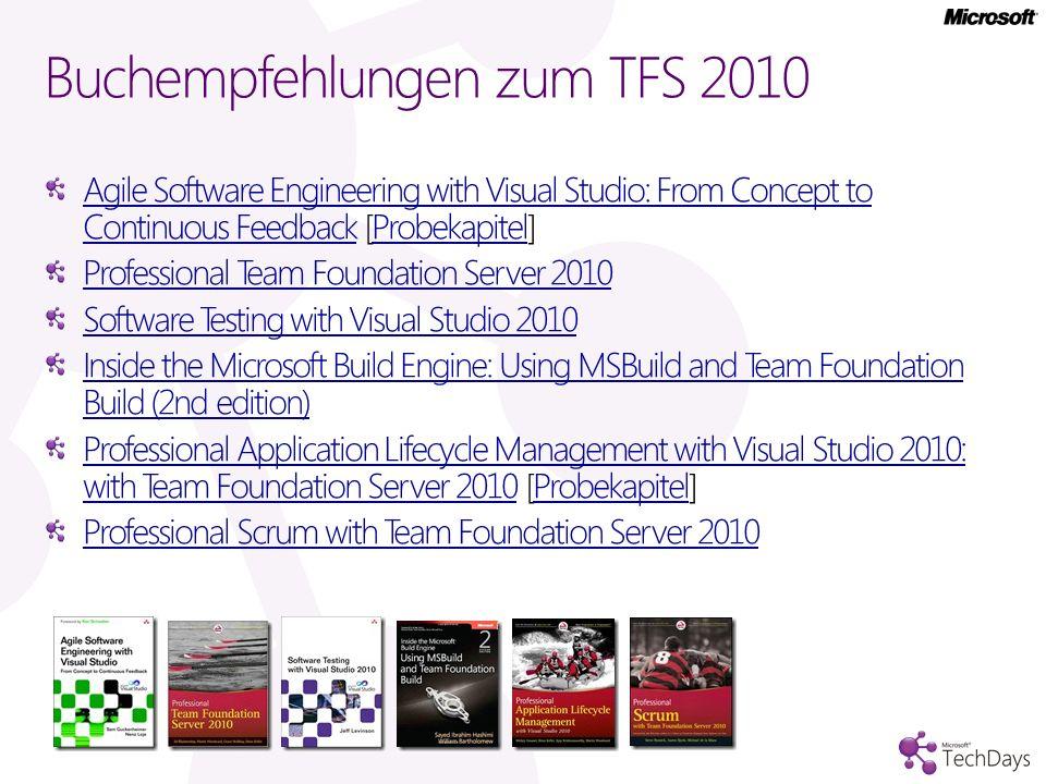 Buchempfehlungen zum TFS 2010