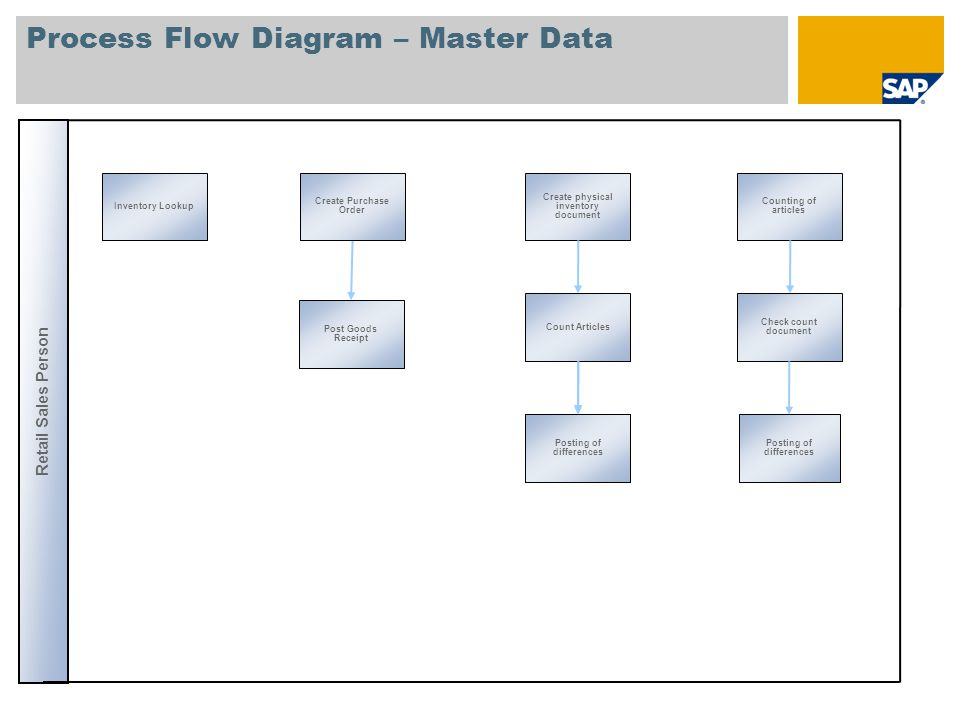 Process Flow Diagram – Master Data