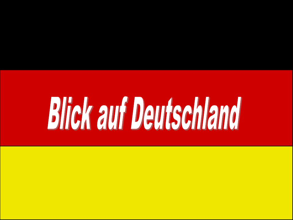 Blick auf Deutschland