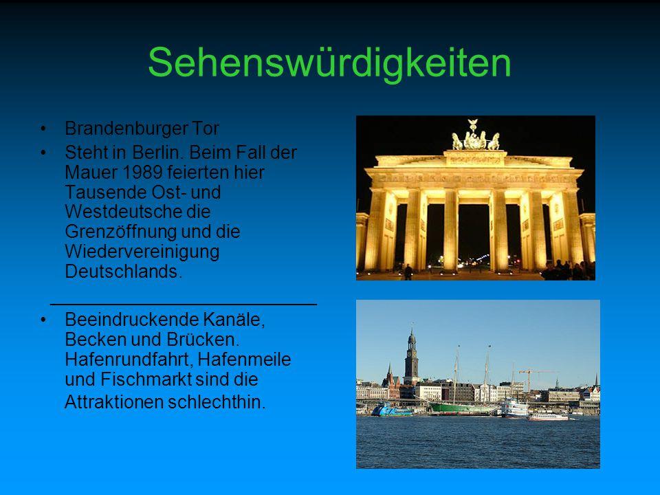 Sehenswürdigkeiten Brandenburger Tor