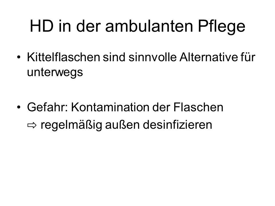 HD in der ambulanten Pflege