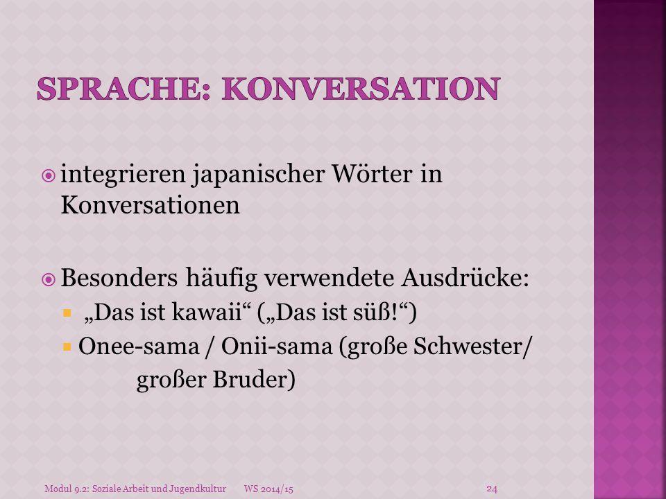 Sprache: Konversation