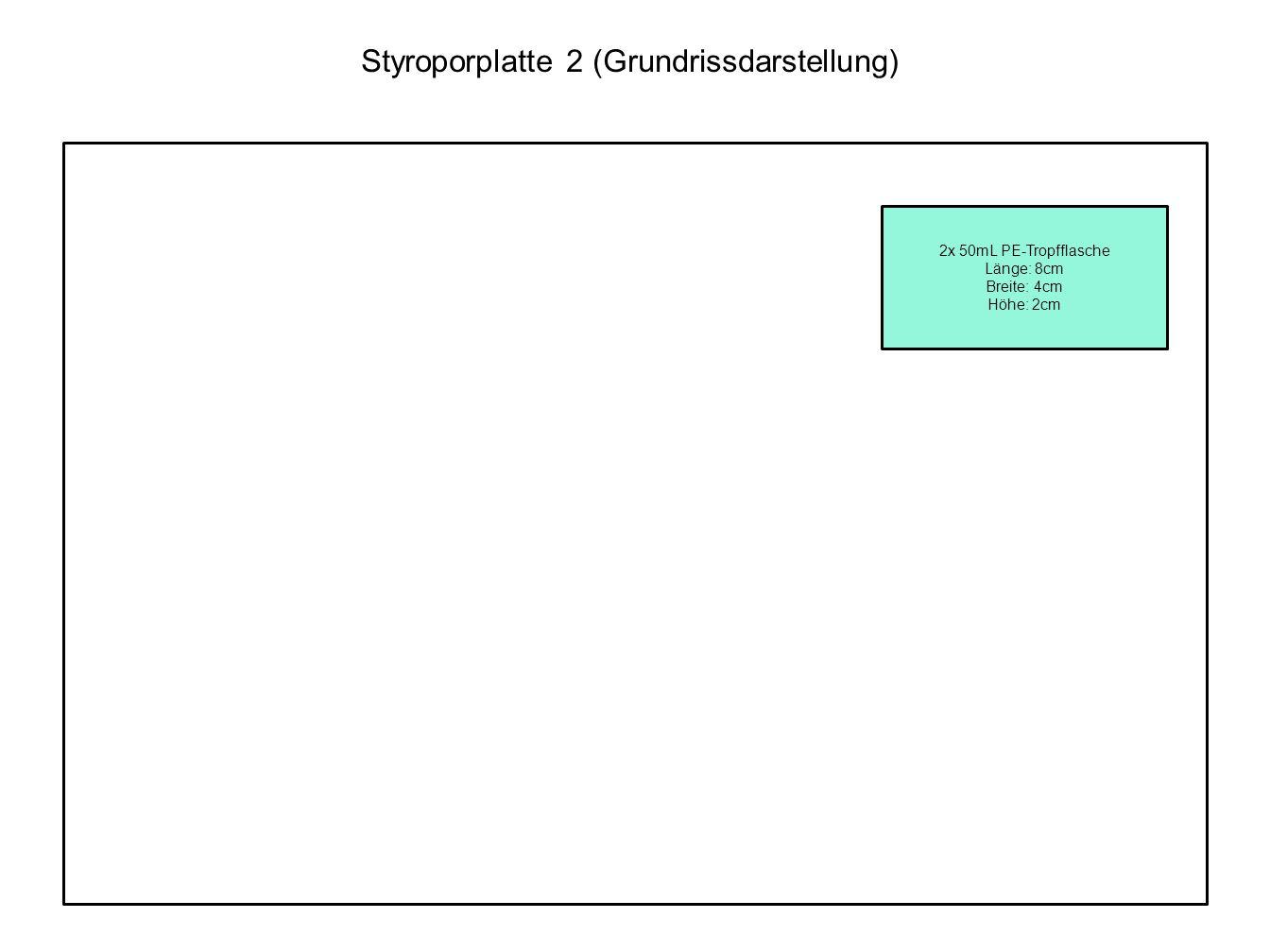 Styroporplatte 2 (Grundrissdarstellung)