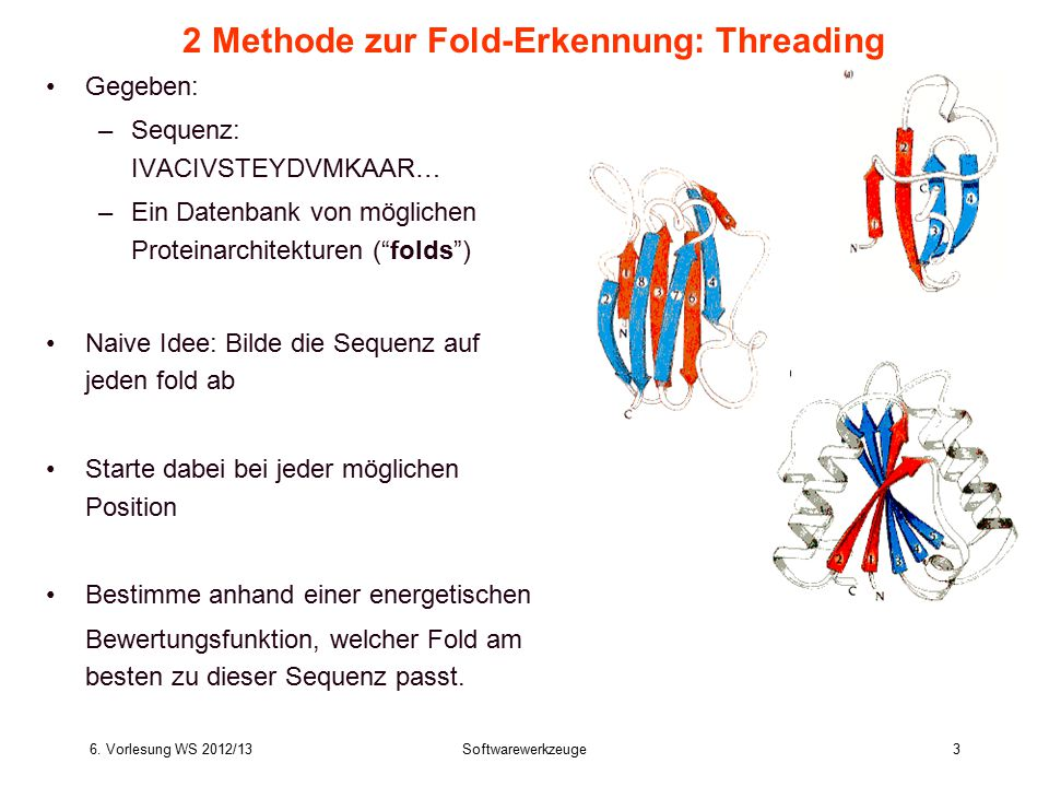 2 Methode zur Fold-Erkennung: Threading