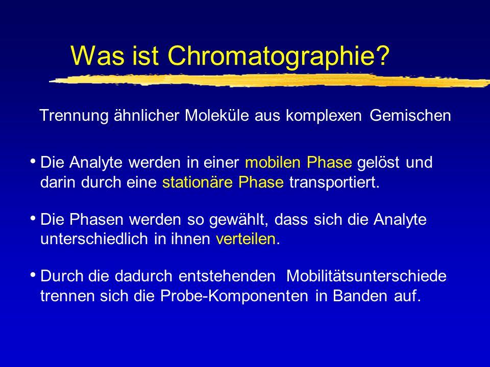 Was ist Chromatographie