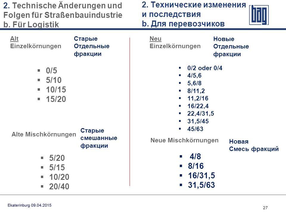 2. Технические изменения и последствия b. Для перевозчиков