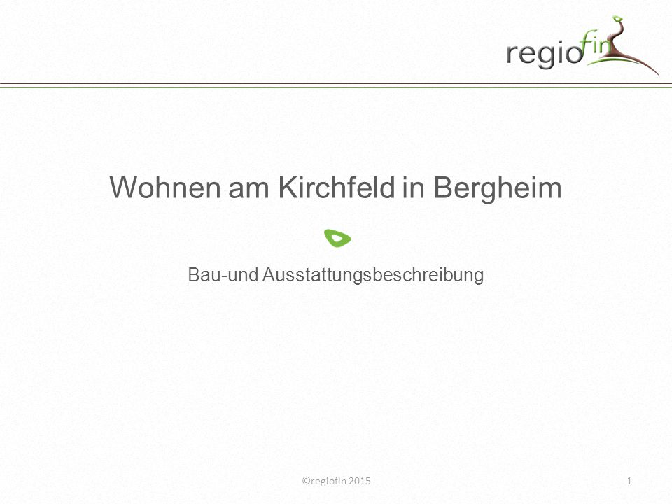 Wohnen am Kirchfeld in Bergheim