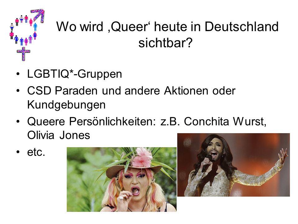 Wo wird 'Queer' heute in Deutschland sichtbar