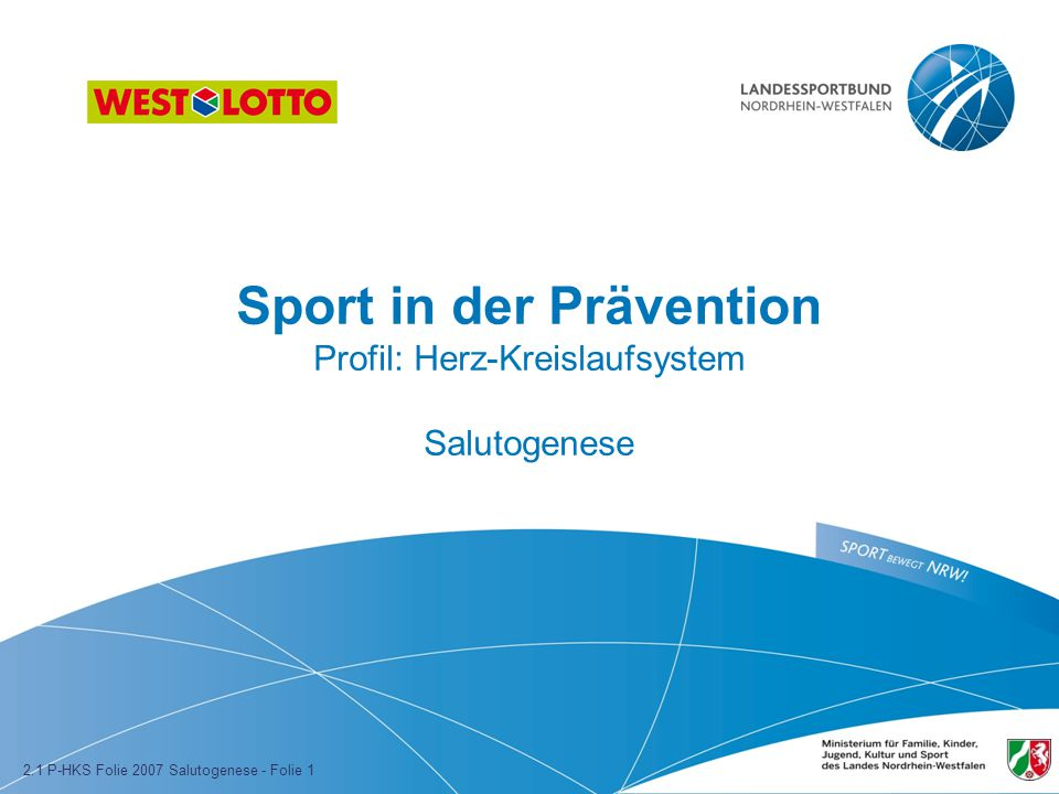 Sport in der Prävention