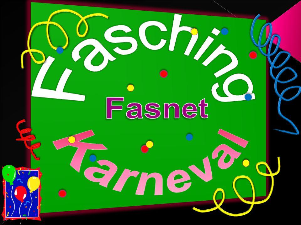 Fasching Fasnet Karneval