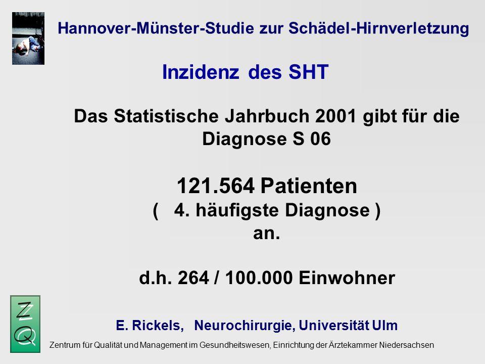 Hannover-Münster-Studie zur Schädel-Hirnverletzung