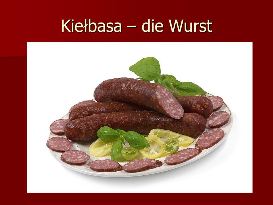 Kiełbasa – die Wurst
