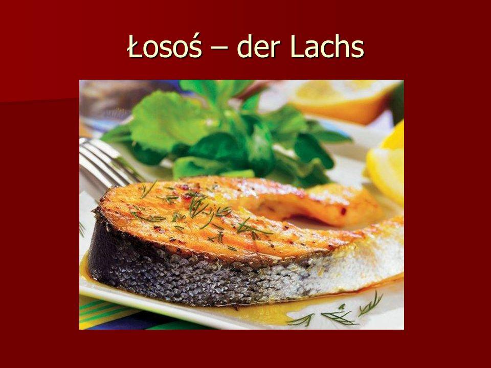 Łosoś – der Lachs