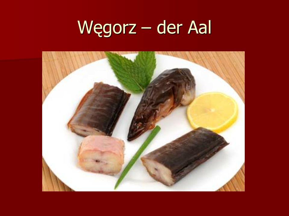 Węgorz – der Aal