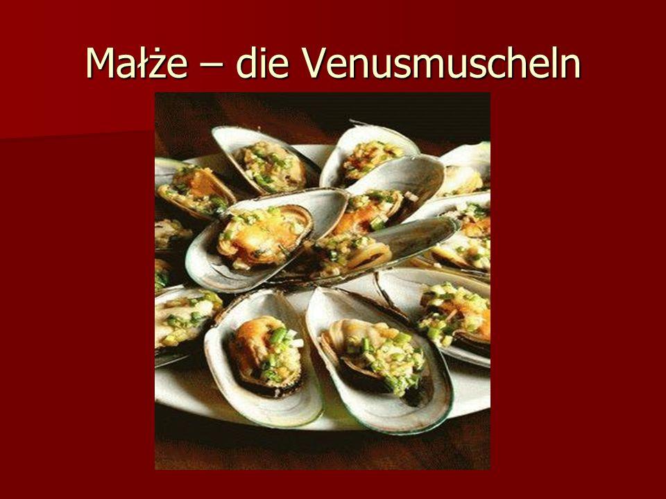 Małże – die Venusmuscheln