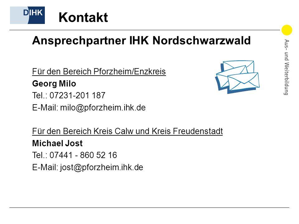 Kontakt Für den Bereich Pforzheim/Enzkreis Georg Milo