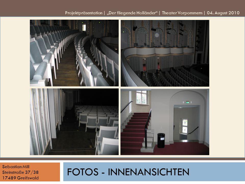 Fotos - Innenansichten