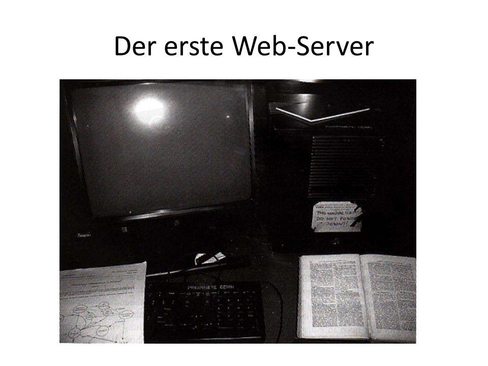 Der erste Web-Server