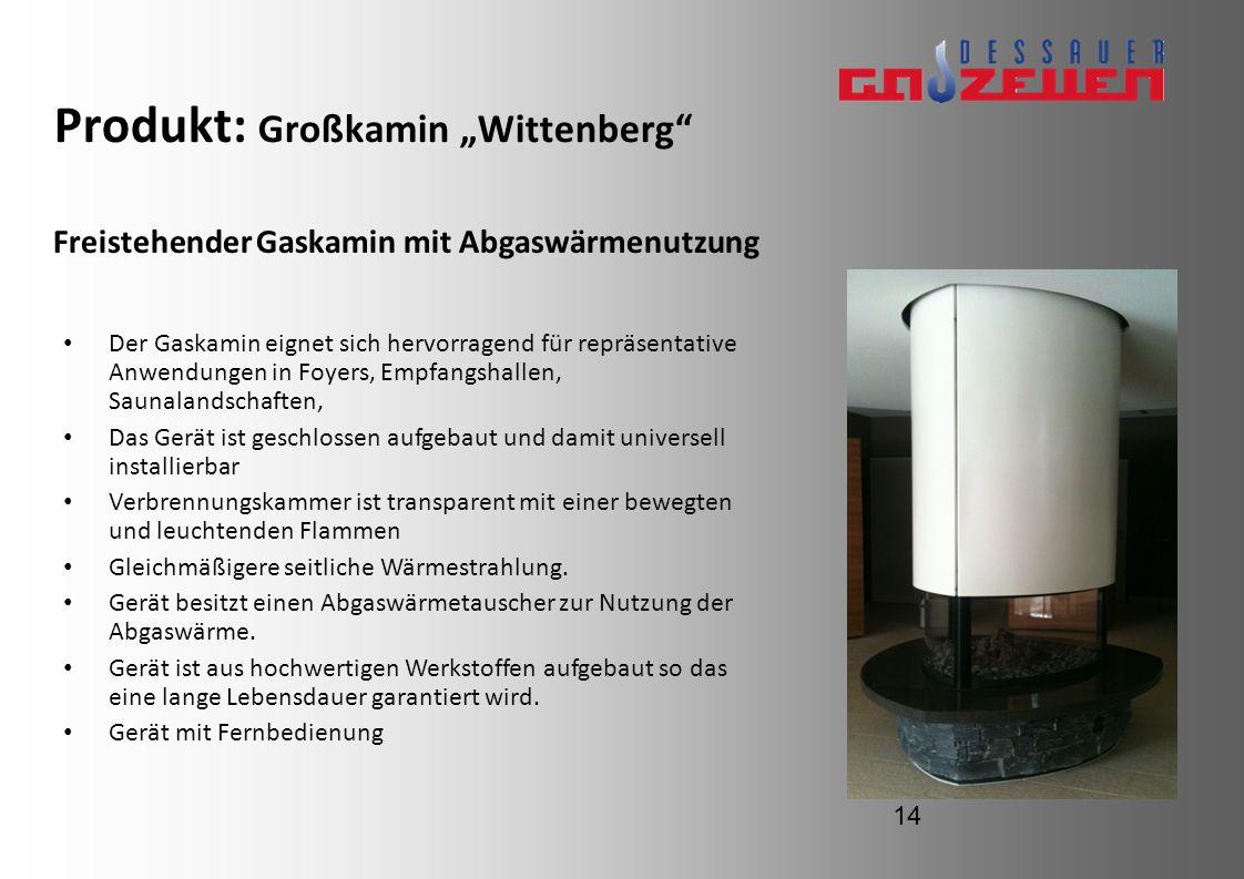 "Produkt: Großkamin ""Wittenberg"