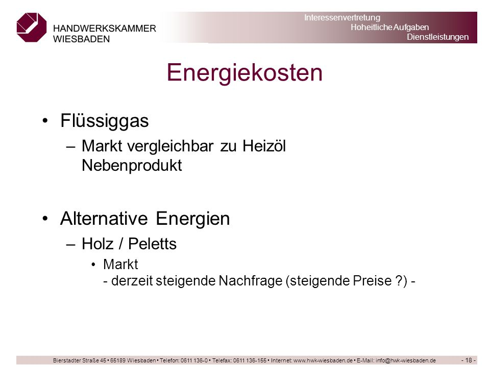 Energiekosten Flüssiggas Alternative Energien