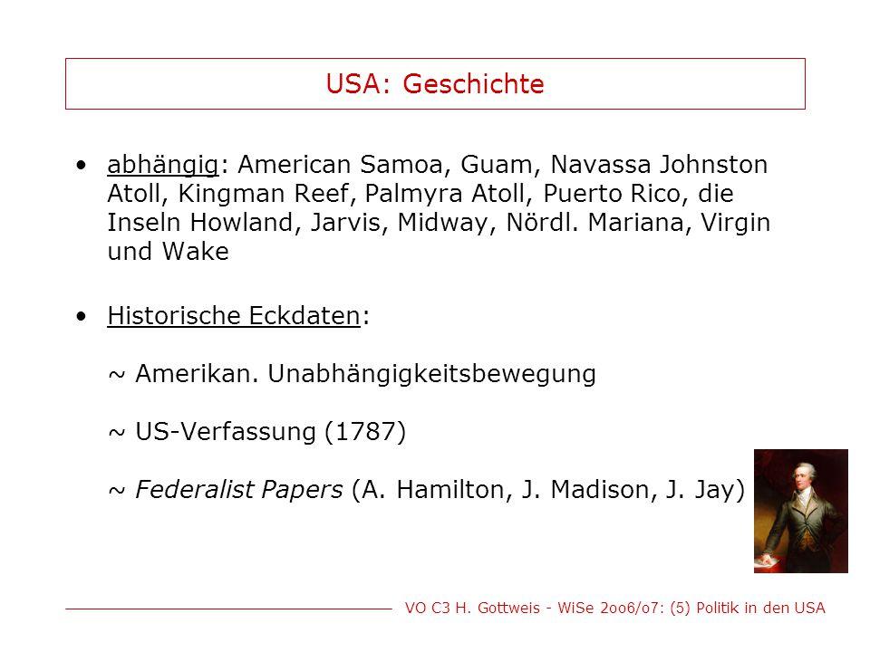USA: Geschichte