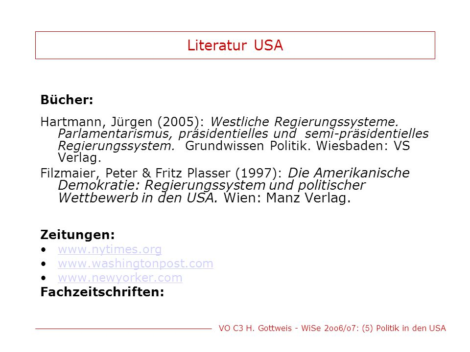 Literatur USA Bücher:
