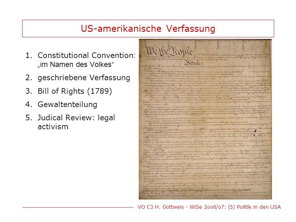 US-amerikanische Verfassung