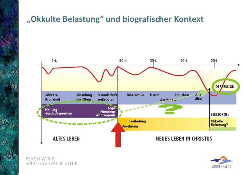 """""""Okkulte Belastung und biografischer Kontext"""