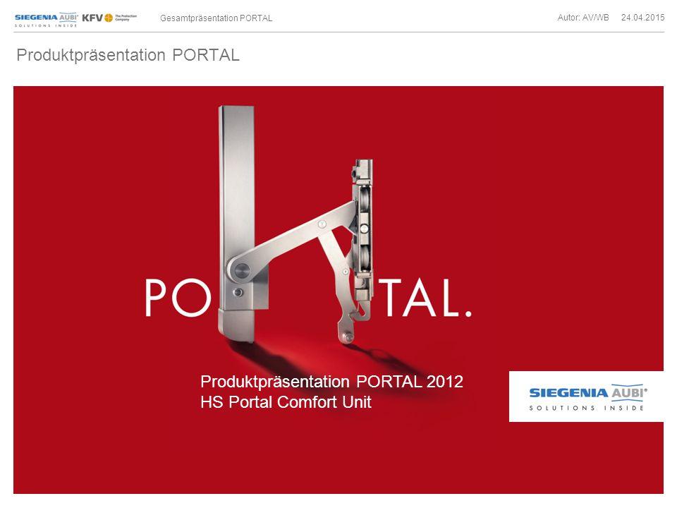 Produktpräsentation PORTAL