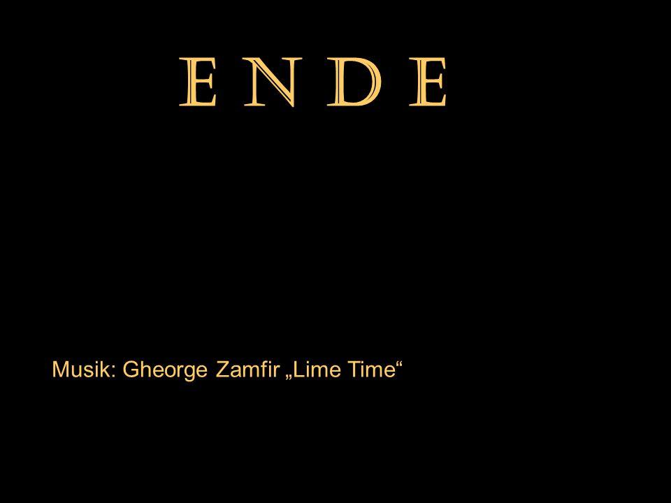 """E N D E Musik: Gheorge Zamfir """"Lime Time"""