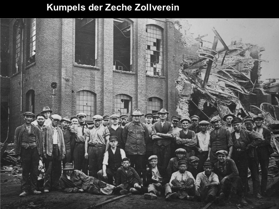 Kumpels der Zeche Zollverein