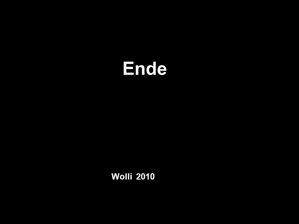 Ende Wolli 2010