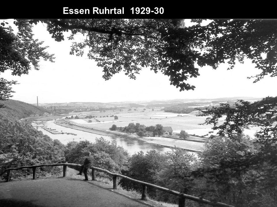 Essen Ruhrtal 1929-30