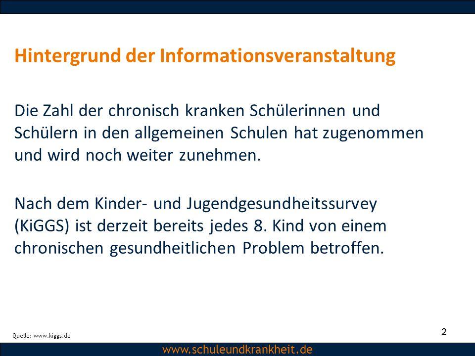 Hintergrund der Informationsveranstaltung
