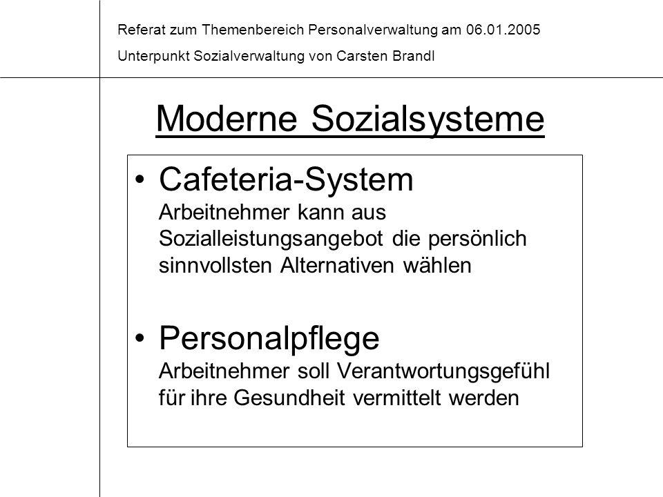 Moderne Sozialsysteme
