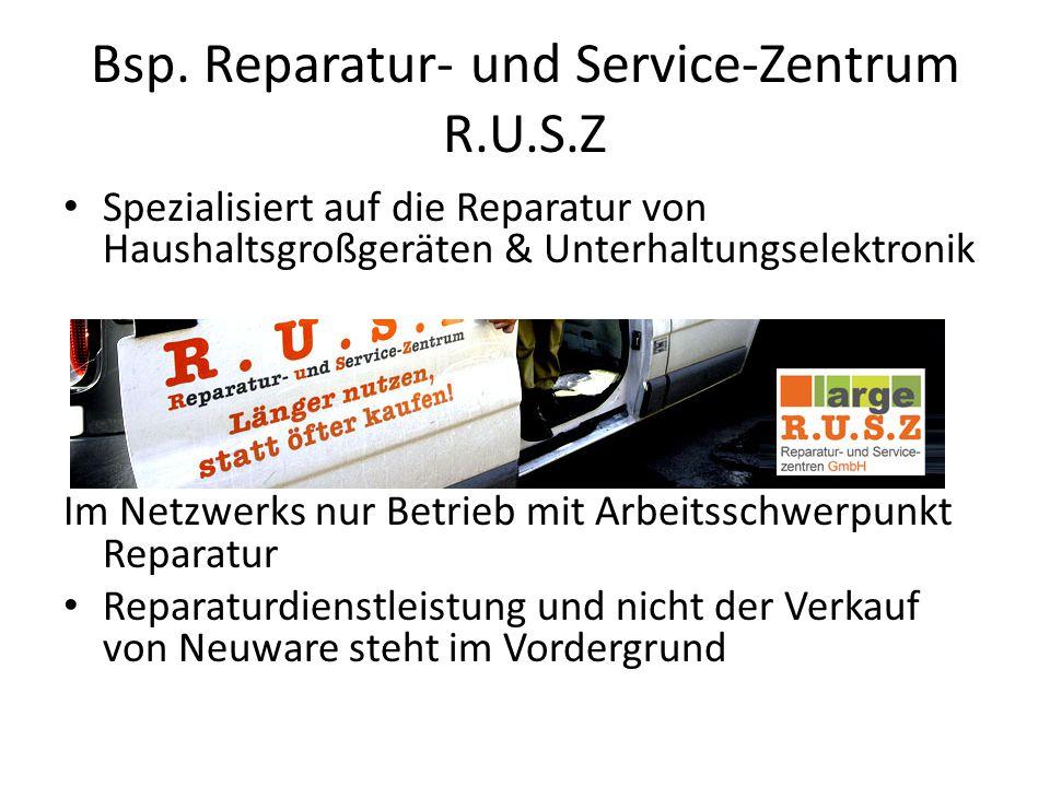 Bsp. Reparatur- und Service-Zentrum R.U.S.Z