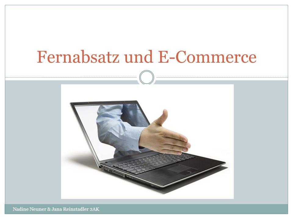 Fernabsatz und E-Commerce