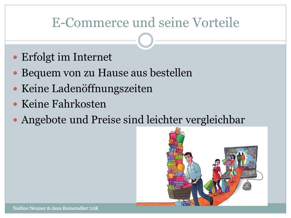 E-Commerce und seine Vorteile