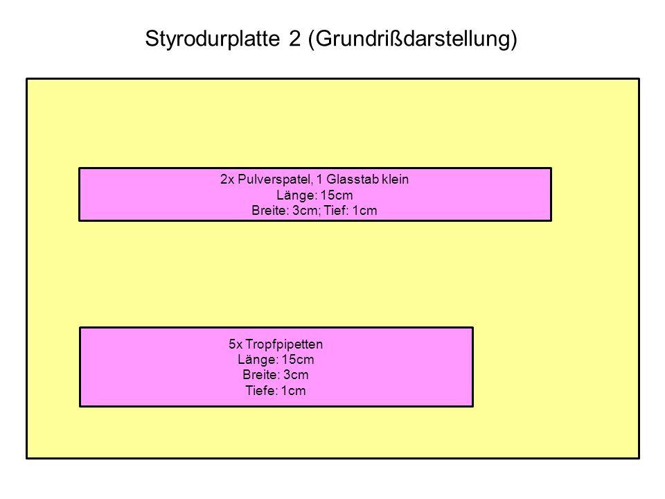 Styrodurplatte 2 (Grundrißdarstellung)