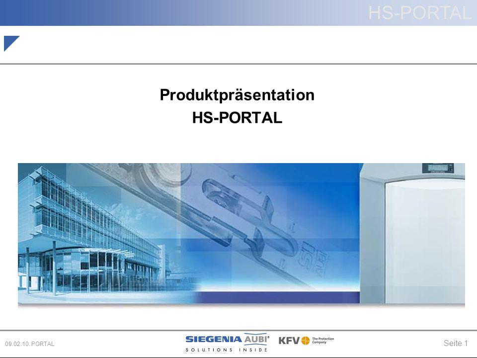 Produktpräsentation HS-PORTAL