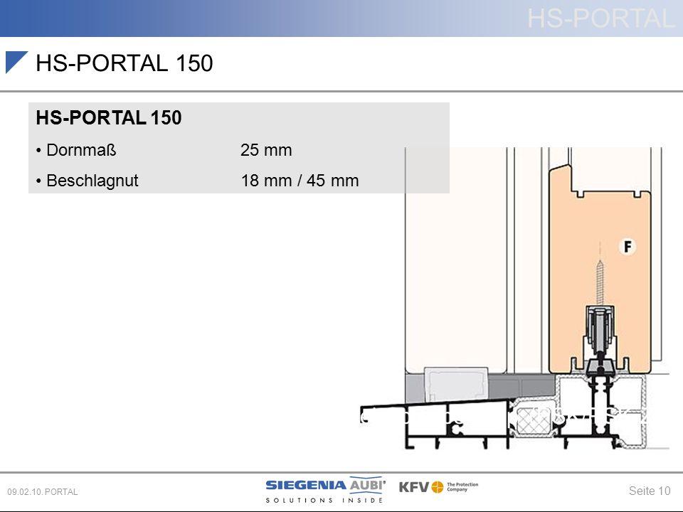 HS-PORTAL 150 Hebe-Schiebe (HS) Schiebe (PD, CS)