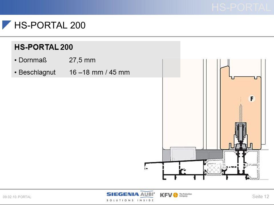 HS-PORTAL 200 Schiebe (PD, CS) Parallel-Schiebe-Kipp (PSK/PSK-Z)