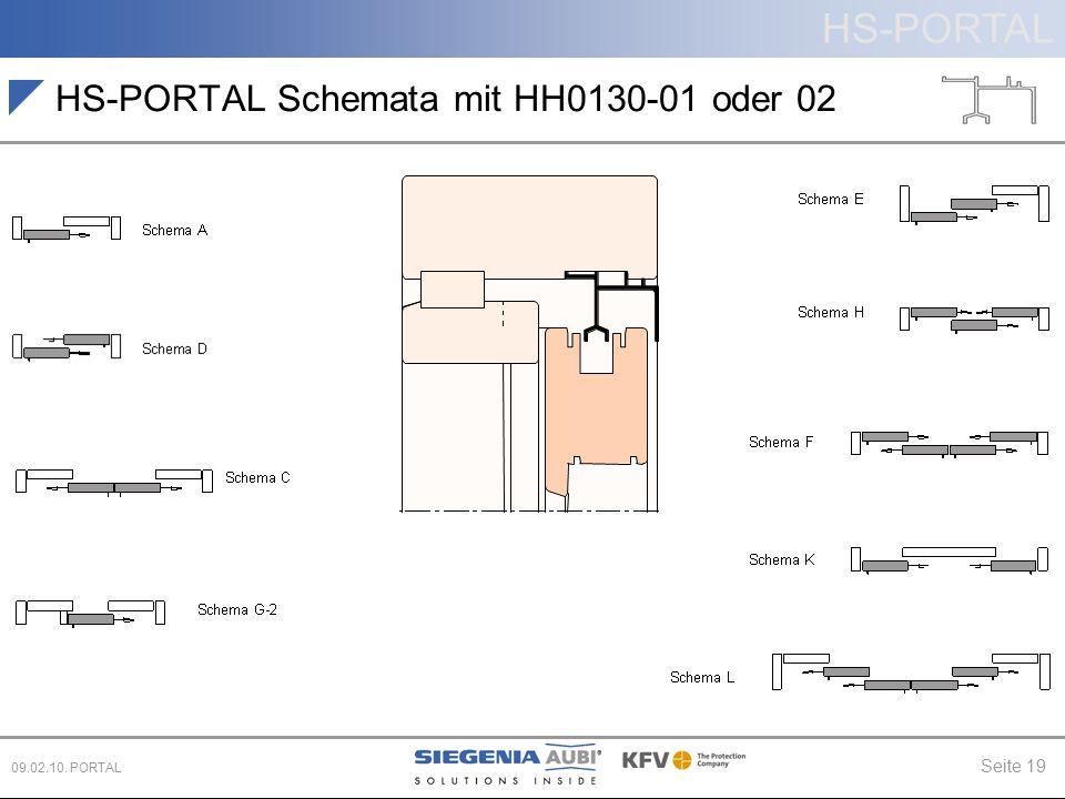 HS-PORTAL Schemata mit HH0130-01 oder 02