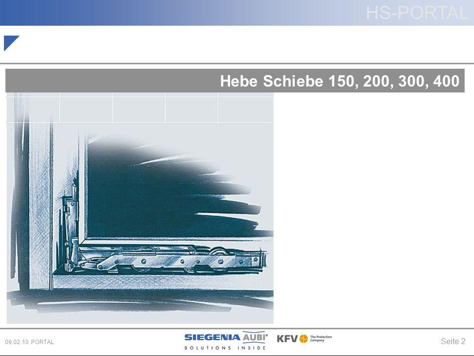 Hebe Schiebe 150, 200, 300, 400