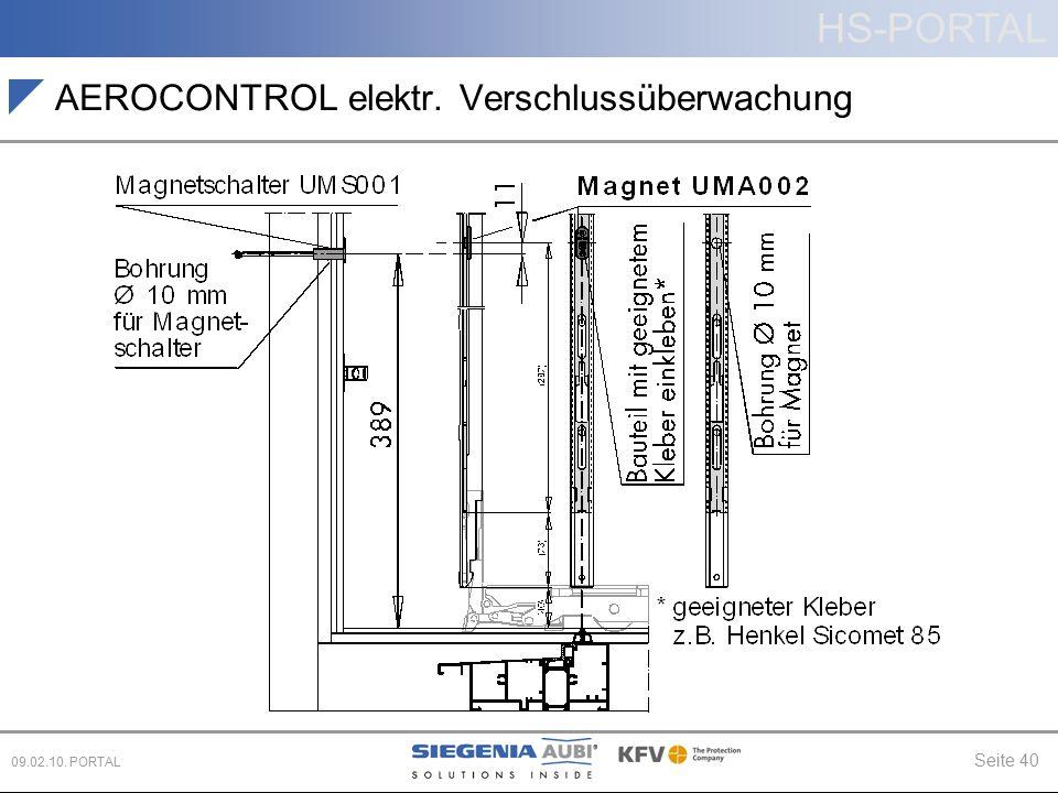 AEROCONTROL elektr. Verschlussüberwachung