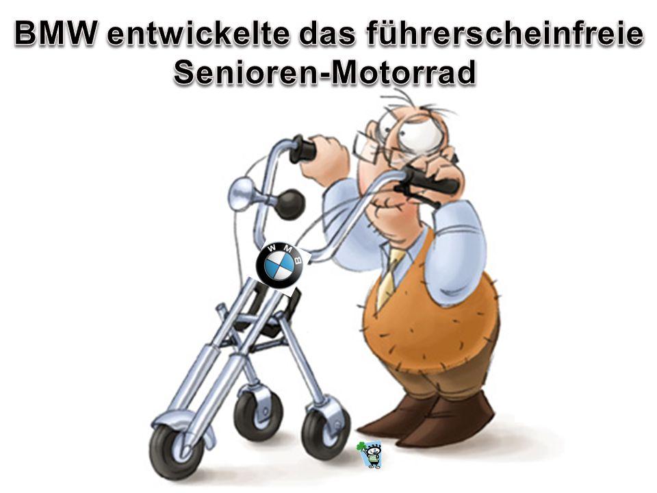 BMW entwickelte das führerscheinfreie