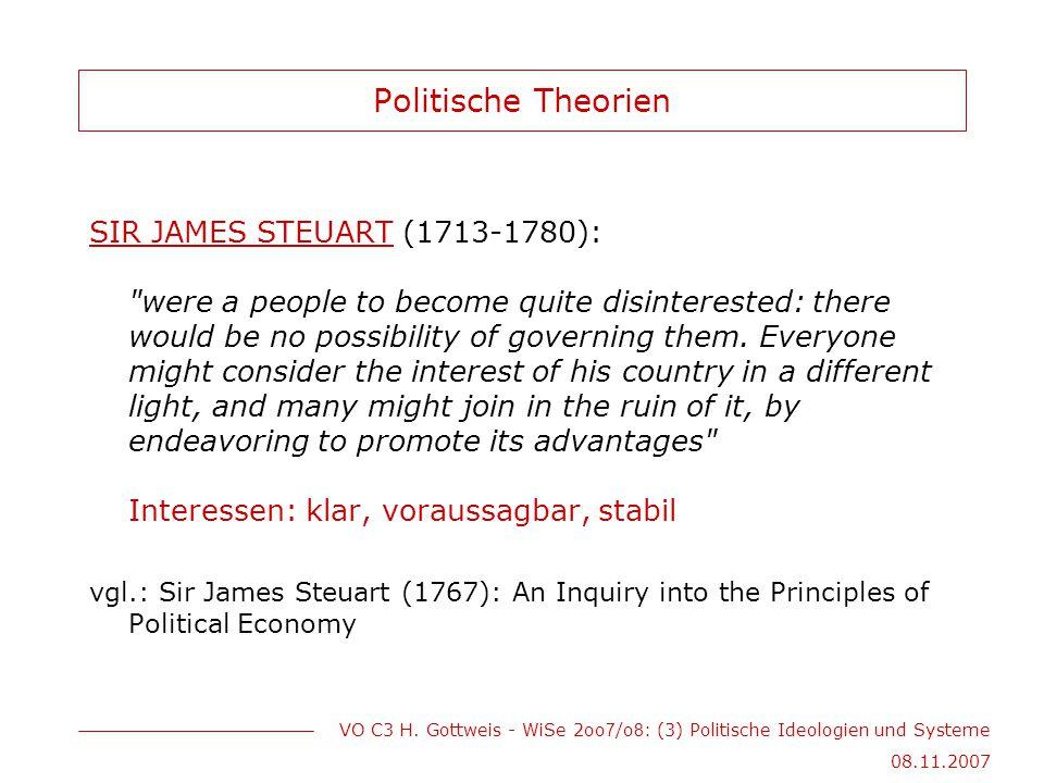 Politische Theorien