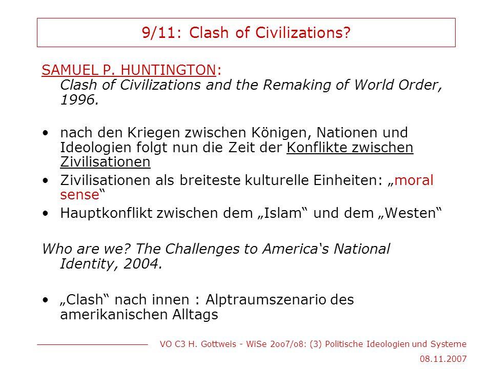 9/11: Clash of Civilizations