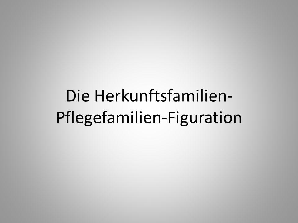 Die Herkunftsfamilien-Pflegefamilien-Figuration